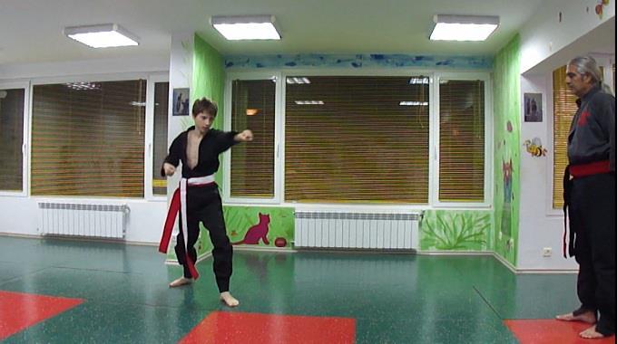 kung fu niki izpit