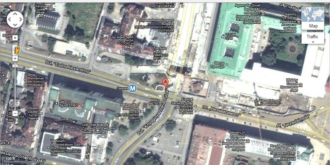 google map sofia