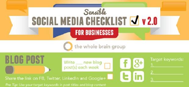 social media check list