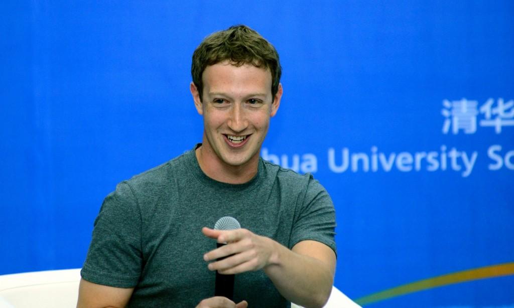 mark zuckerberg chinese