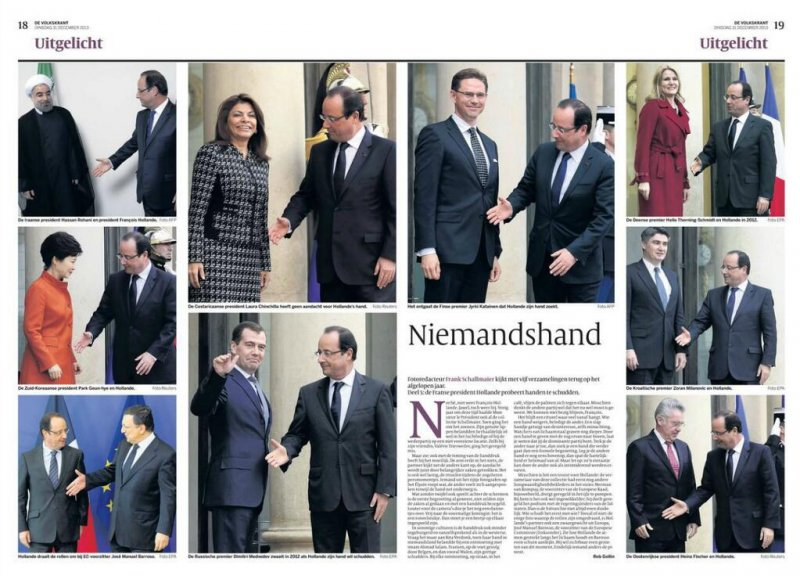rukostiskania frenski president