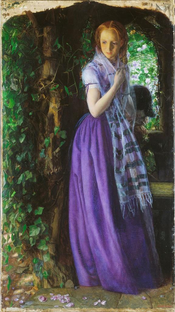 Априлска любов - Артър Хюз, 1855
