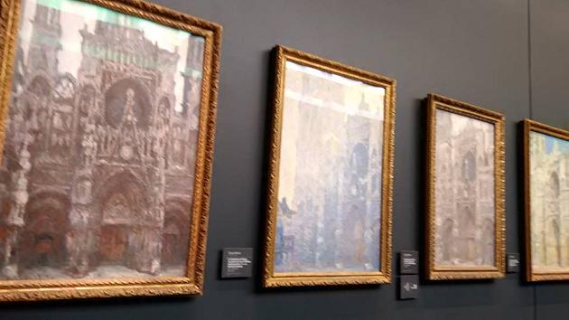 catedrale de rouen d'orsay 4 kartini