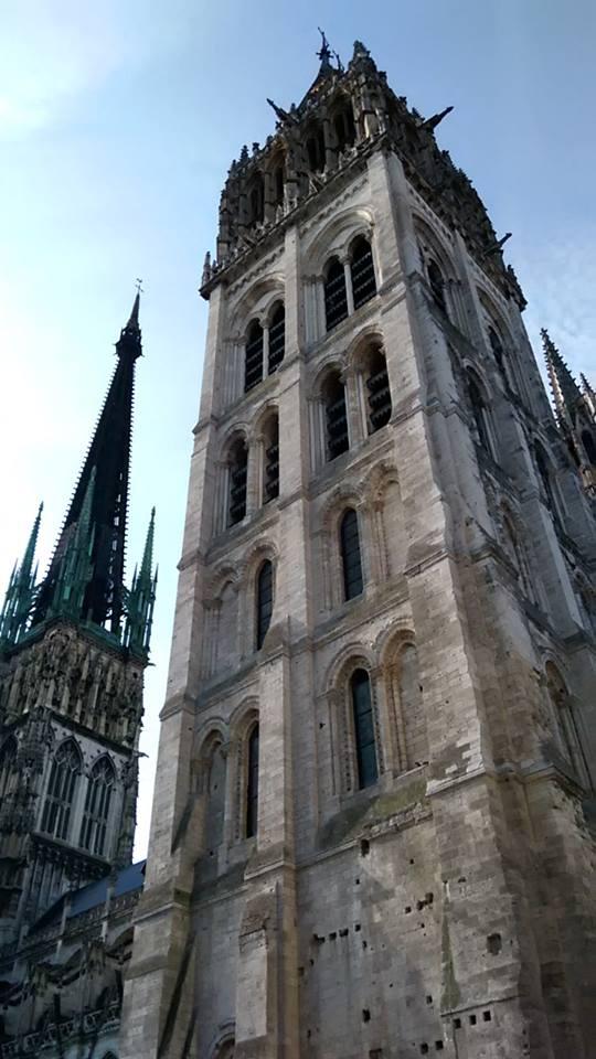 rouen catedrala naj stara kula