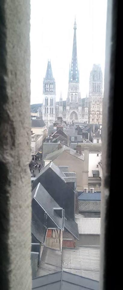 rouen catedrala snimana prez gros horologie