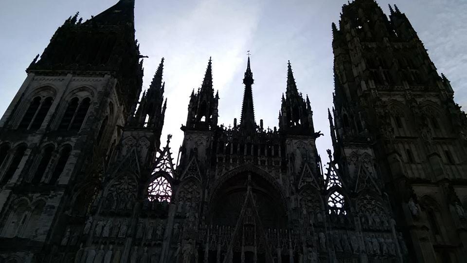 rouen catedrala vunshno