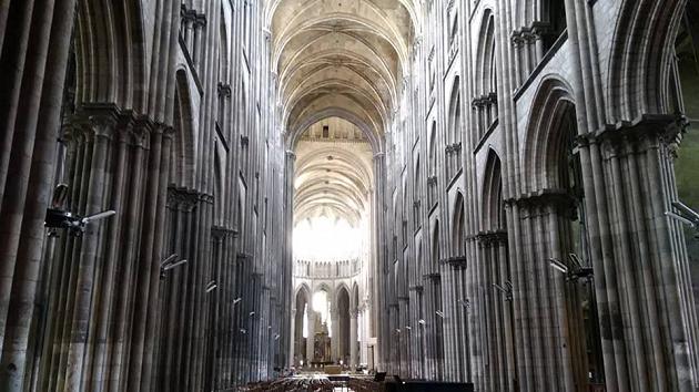 rouen catedrala vutre