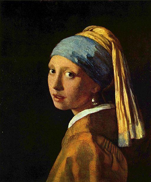 """Момичето с перлената обица"" -  Йоханес Вермеер ван Делфт"