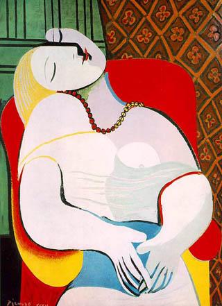 """""""Сънят"""", Пабло Пикасо"""