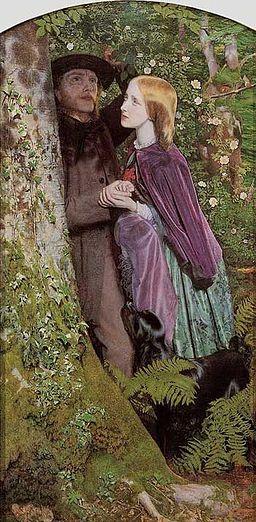 The Long Engagement (1859) - Arthur Hughes
