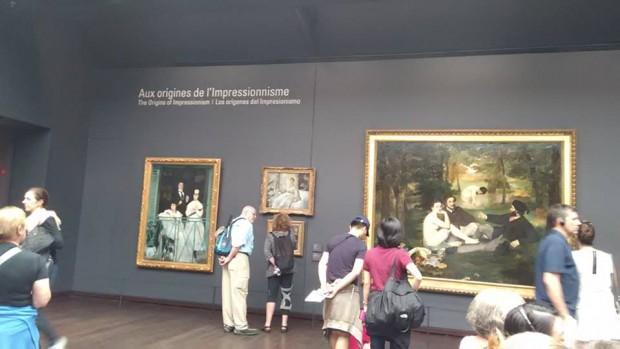 salle impresionisti musee dorsey
