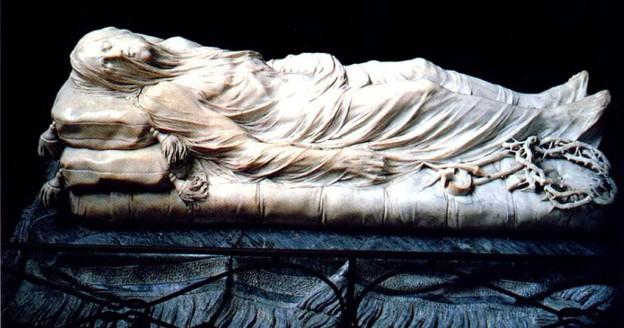 """Il """"Cristo velato"""" di Giuseppe Sanmartino"""